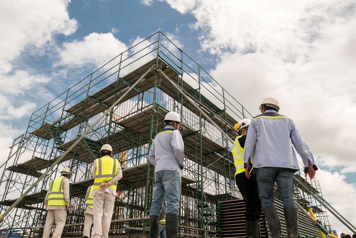 Scaffolding-company-for-hire-dorchester-weymouth-dorset